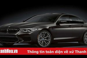 BMW M5 Edition 2020 - phiên bản mừng sinh nhật 35 năm