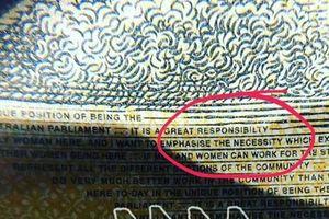 Lỗi tại tay đánh máy: Úc hốt hoảng khi phát hiện hàng triệu đô la sai chính tả