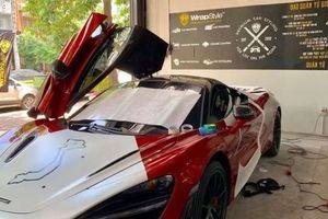 McLaren 720S đi 'tân trang' trước sự kiện Car & Passion 2019