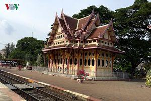 Bên trong nhà ga xe lửa đẹp bậc nhất Thái Lan