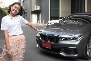 Bé gái 'tài không đợi tuổi', mua BMW 7 Series ở tuổi 12