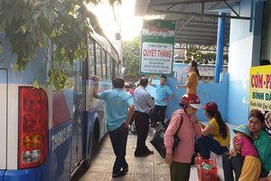 Bị chủ 'ép' làm 14 giờ/ngày, tài xế công ty xe buýt ở Nha Trang đình công