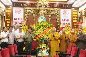 Giám đốc Công an Hà Nội chúc mừng Trung ương Giáo hội Phật giáo Việt Nam