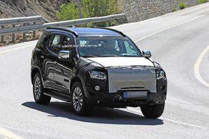 Chevrolet Trailblazer 2021 lộ ảnh chạy thử