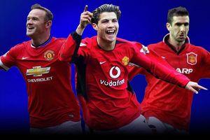 Ronaldo xếp sau Rooney ở top 10 cầu thủ vĩ đại nhất Man Utd