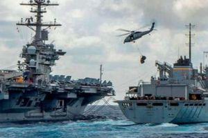 7 tàu chiến Mỹ bủa vây Iran