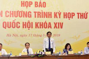 Kỳ họp thứ Bảy, Quốc hội khóa XIV diễn ra trong 20 ngày
