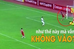Pha bỏ lỡ khó hơn ghi bàn tại AFC Cup