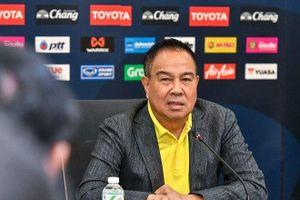 Chủ tịch bóng đá Thái Lan cảnh báo đội nhà khi gặp tuyển Việt Nam