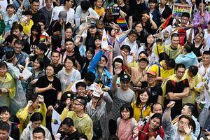 Quốc hội Đài Loan bỏ phiếu chấp thuận các cuộc hôn nhân đồng giới