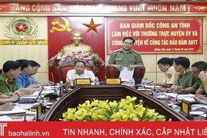 Đấu tranh hiệu quả với các loại tội phạm trên địa bàn Hương Khê