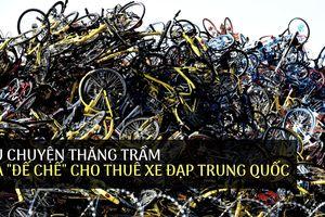 Câu chuyện thăng trầm của 'đế chế' cho thuê xe đạp Trung Quốc