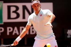 Ngược dòng kịch tính hạ Borna Coric, Roger Federer vất vả vào tứ kết Rome Masters