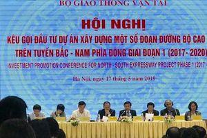 Gần 150 nhà đầu tư tham gia Hội nghị kêu gọi đầu tư dự án cao tốc Bắc – Nam