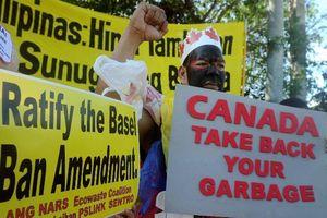 Philippines triệu hồi đại sứ tại Canada do căng thẳng rác thải