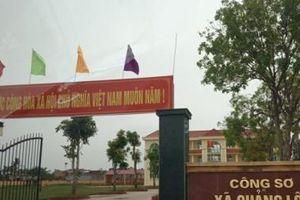 Thanh Hóa: Hàng loạt nguyên cán bộ xã ở huyện Quảng Xương bị bắt