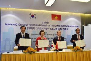 KOICA hỗ trợ Huế, Đà Nẵng, Quảng Nam xây dựng đô thị thông minh