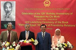 55 năm tình hữu nghị Việt Nam - Ai Cập kết tinh trong ấn phẩm song ngữ