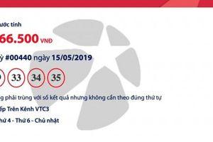 Kết quả xổ số Vietlott - Mega 6/45 hôm nay 17/5/2019: Hơn 18 tỉ đồng về tay ai?