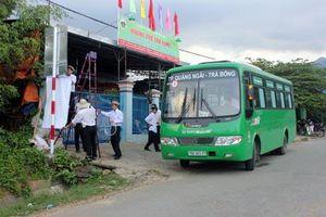 Lộ trình, lịch trình các tuyến xe buýt Quảng Ngãi mới nhất