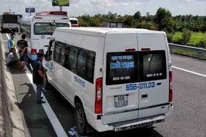 Tai nạn kép trên cao tốc TP HCM – Trung Lương