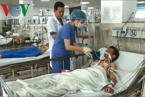 Sức khỏe các ngư dân Quảng Bình bị ngộ độc khí đang tiến triển tốt