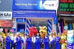 Khai trương trụ sở mới Ngân hàng Bản Việt Hoàn Kiếm