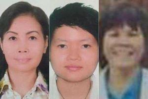 Thông tin mới về 4 người nữ vụ giấu xác trong bê tông