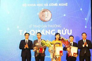 3 nhà khoa học xuất sắc nhận Giải thưởng Tạ Quang Bửu 2019