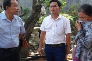 HND TP.Hải Phòng: Thăm và tặng quà động viên Hội viên HND bị ' bà hỏa' thiêu cháy rụi nhà