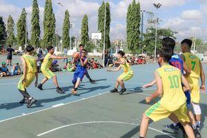 156 đội tham dự khai mạc giải bóng rổ trường học tại TP Hồ Chí Minh
