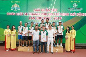 Giải Quần vợt Đoàn Luật sư TPHCM mở rộng năm 2019