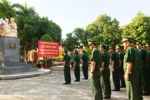 BĐBP Đắk Lắk và Ninh Bình tổ chức báo công dâng Bác