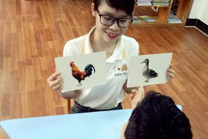 Cô giáo trẻ trở thành bạn thân của nhiều trẻ đặc biệt