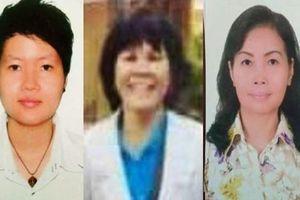 Vụ hai thi thể bị đổ bê tông: 4 nữ nghi phạm khai gì?