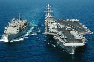 Dàn chiến hạm Mỹ lọt tầm bắn của tên lửa Iran