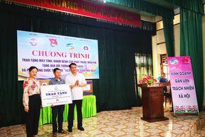 Huawei Việt Nam trao tặng phòng máy tính cho trường học tỉnh Phú Thọ