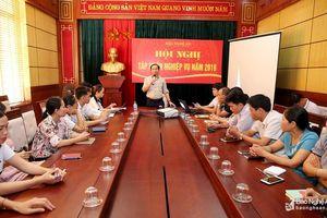 Nâng cao chất lượng đội ngũ cộng tác viên của Báo Nghệ An