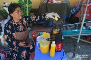 Những dịch vụ 'hái ra tiền' ngày nắng nóng ở Nghệ An