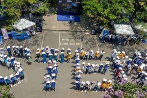 Nghìn người đội nắng 40 độ tham gia Ngày hội STEM 2019 ở Hà Nội