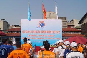 Tưng bừng khai mạc Giải Giao lưu Bóng đá Hanoitourist Cup 2019