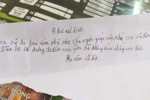 Khởi nghiệp thất bại, cậu bé 11 tuổi từng để lại thư 'từ biệt bố mẹ' rồi ra đi đã trở về nhà an toàn sau 2 ngày