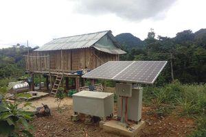Quảng Bình đầu tư 20 tỷ đồng cho hệ thống điện mặt trời