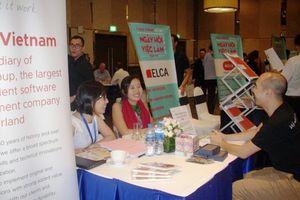 Hơn 40 doanh nghiệp tham gia tuyển dụng lao động trong Ngày Hội việc làm Pháp - Việt
