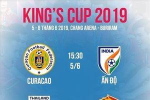 Toàn bộ lich thi đấu King's Cup 2019 của ĐT Việt Nam
