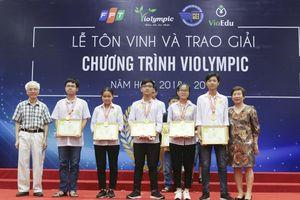 Hà Nội dẫn đầu cả nước số lượng thí sinh giành giải cao tại cuộc thi Violympic