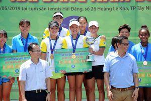 Hưng Thịnh-TPHCM, Becamex Bình Dương vô địch nội dung đồng đội Cúp Hải Đăng 2019