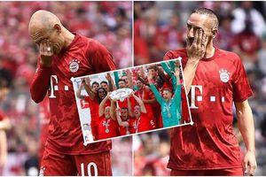 Robben và Ribery bật khóc trong ngày chia tay Bayern bằng chức vô địch