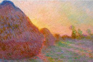 Bức tranh vẽ đống rơm được bán với giá 2.500 tỷ đồng