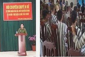 Tổ chức cho phạm nhân nghe những câu chuyện xúc động về Chủ tịch Hồ Chí Minh